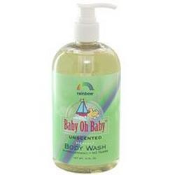 BABY BODY WASH UNSCENTED  16 OZ