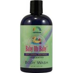 BABY COLLOIDAL OAT BODY WASH UNSCENTED  12 OZ