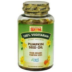 100% VEGETARIAN PUMPKIN SEED OIL  90 SOFTGEL