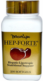 Naturally Vitamins - Marlyn's Hep-Forte 200 SoftGe