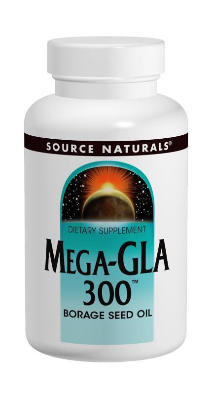 MEGA-GLA BORAGE SEED OIL 120 SOFTGELS
