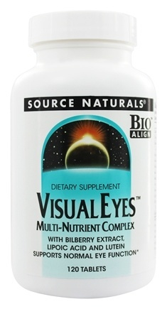 VISUAL EYE WITH BILBERRY & LUTEIN BIO-ALIGNE  120 TABLET