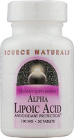 ALPHA-LIPOIC ACID 100 MG 30 TABS