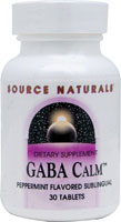 GABA CALM SUBLINGUAL PEPPERMINT 30 TABS