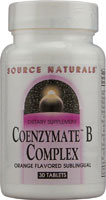 COENZYMATE B COMPLEX SUBLINGUAL ORANGE 30 TABS