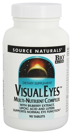VISUAL EYES WITH BILBERRY & LUTEIN 90 TABS