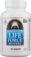 LIFE FORCE MULTIPLE-NO IRON 30 TABS
