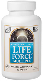 LIFE FORCE MULTIPLE-NO IRON 60 TABS 60