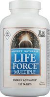 LIFE FORCE MULTIPLE-NO IRON 120 TABS