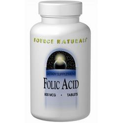 FOLIC ACID 800 MCG 200 TABS