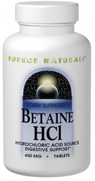 BETAINE HCL 90 TABS