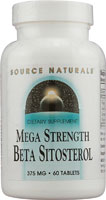 BETA SITOSTEROL 375MG MEGA STRENGTH 60 TABS