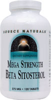 BETA SITOSTEROL 375MG MEGA STRENGTH 120 TABS