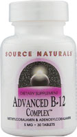ADVANCED B-12 COMPLEX 30 TABS
