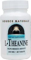 L-THEANINE 200 MG 60 TABS