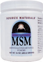 MSM POWDER 16 OZ