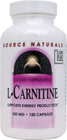 L-CARNITINE 500 MG 120 CAPS