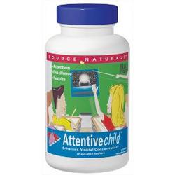 ATTENTIVE CHILD CHEWABLE 120 WAFERS