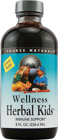 WELLNESS HERBAL KIDS™ ALCOHOL-FREE  8 LIQUID