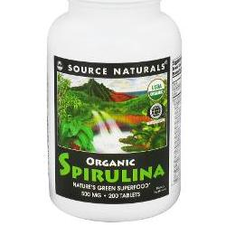 SPIRULINA ORGANIC 500MG  200 TABLET