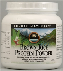 BROWN RICE PROTEIN POWDER 1LB (454GM)
