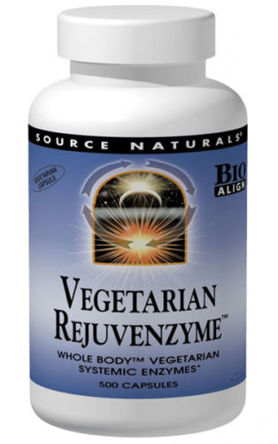 REJUVENZYME™ WHOLE-BODY™ ENZYMES VEGETARIAN BIO-ALIGNED™  180 CAPSULE
