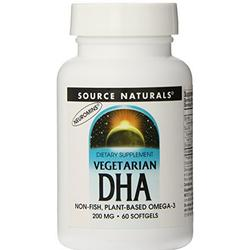 VEGETARIAN DHA 200MG  60 SOFTGEL