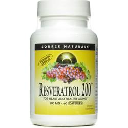 RESVERATROL 200™ 50% STANDARDIZED EXTRACT 200MG  60 CAP VEGI