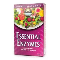 ESSENTIAL ENZYMES™ 500MG BLISTER PACK  30 CAPSULE