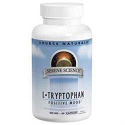 L-Tryptophan 500mg Serene Science Label  120 capsule
