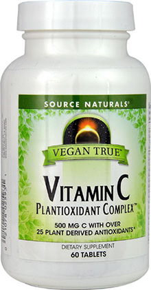 Vegan True Vitamin C Plantioxidant Complex  60 tablet