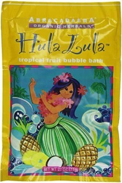 HULA LULA TROPICAL FRUIT BUBBLE BATH  2.5 OZ