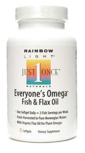 EVERYONE'S OMEGA FISH & FLAX OIL  60 SOFTGEL