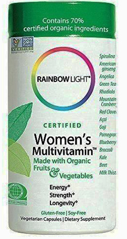 Womens Organic Multivitamin  120 cap
