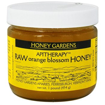 RAW HONEY ORANGE BLOSSOM  1 LB