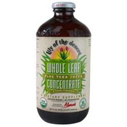 ALOE VERA JUICE WHOLE LEAF CONCENTRATE  32 OZ