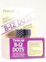 VITAMIN B 12 500MG 100 DOT