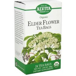 ELDER FLOWER TEA ORGANIC  24 BAG