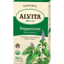 PEPPERMINT LEAF TEA ORGANIC  24 BAG