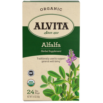 ALFALFA LEAF TEA ORGANIC  24 BAG