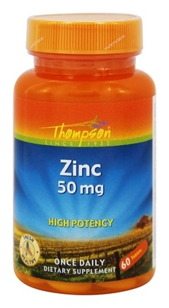 ZINC HIGH POTENCY 50MG  60 TABLET