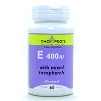 VITAMIN E 400 IU WITH MIXED TOCOPHEROLS  60 SOFTGEL