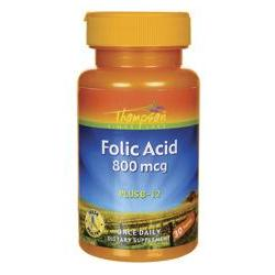 FOLIC ACID 800 MCG  30 TABLET