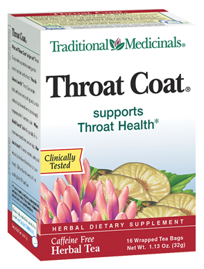 THROAT COAT TEA 16BG