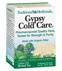 GYPSY COLD CARE TEA  16 BAG