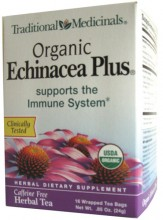 ORGANIC ECHINACEA PLUS TEA  16 BAG