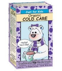 ORGANIC KIDS TEA  COLD CARE 6X 18 BAG