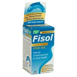 FISOL DELAYED-RELEASE FISH OIL 45 SOFTGELS