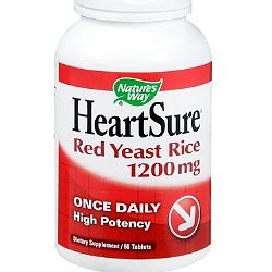HEARTSURE RED YEAST RICE 1200MG  60 TABLET