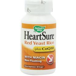 HEARTSURE RED YEAST RICE COQ10  60 CAP VEGI